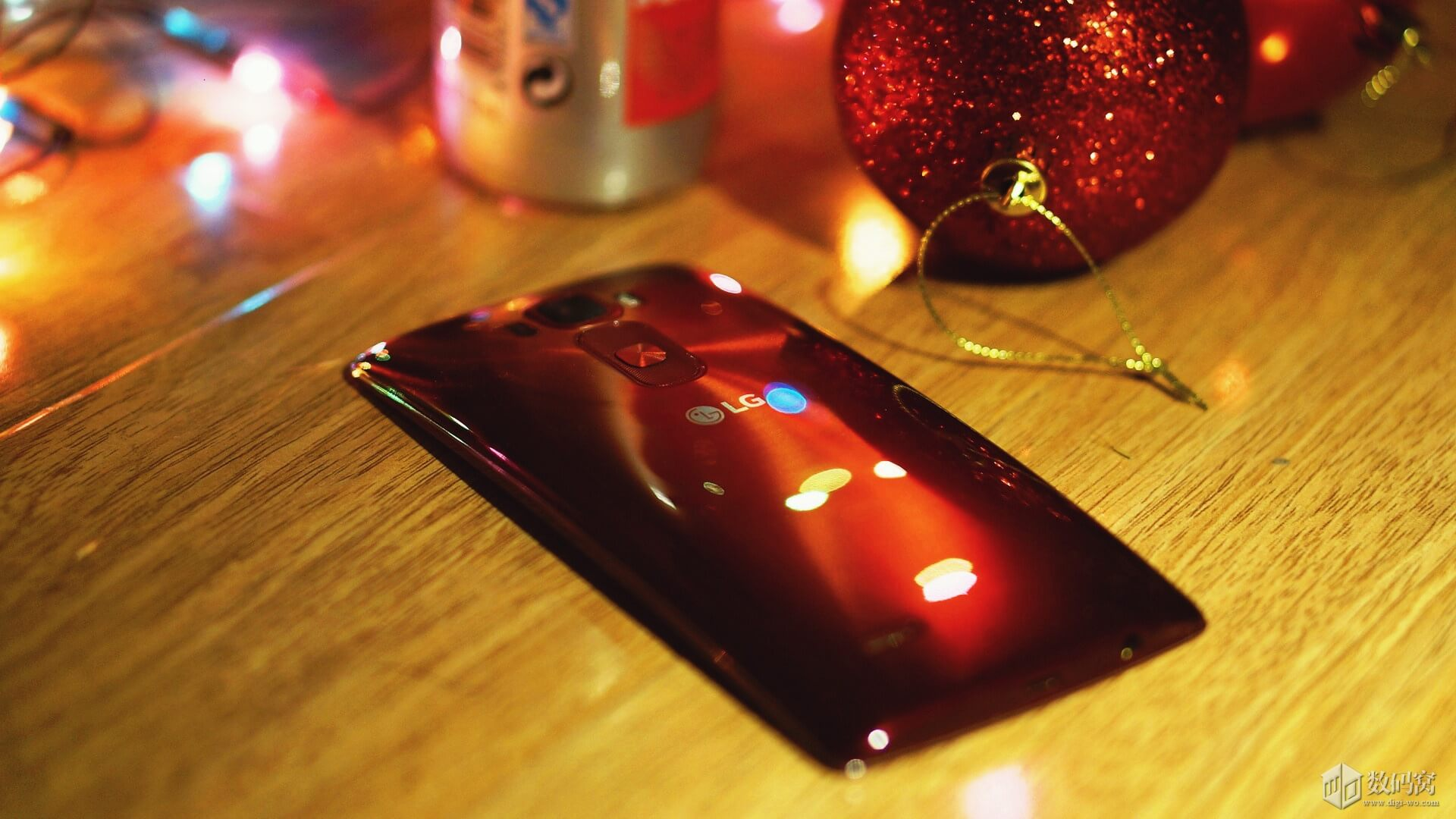 Red LG G Flex2 Back curve