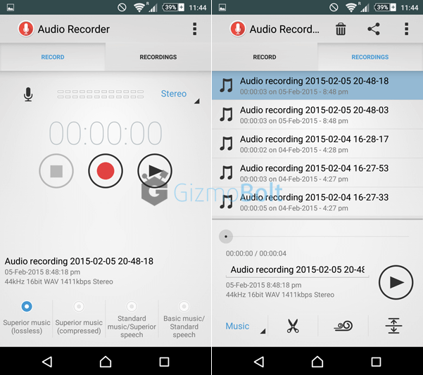 Sony Audio Recorder 1.00.35 app
