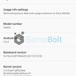 Xperia Z 10.6.A.0.454 about phone screenshot