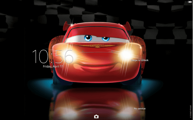 Xperia Cars Lightning Theme apk
