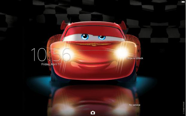 Xperia Cars Lightning Theme apk