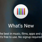 Sony What's New app, 3.5.A.1.2 version updated