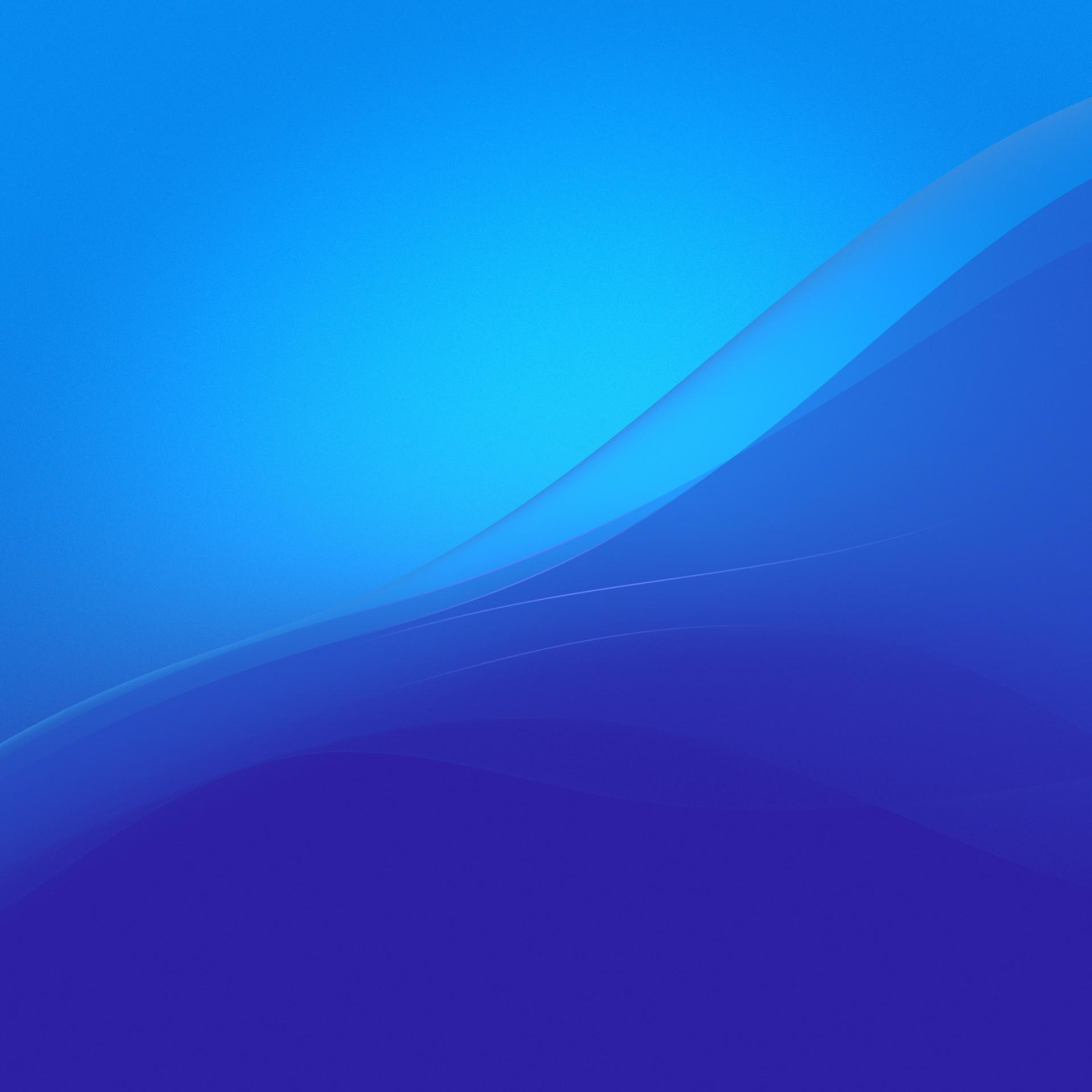 official Xperia Wallpaper from Lollipop firmware in Blue Color