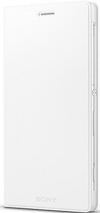 White Sony SCR38 Style Cover Stand for Xperia C4