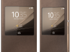 Xperia Z4 Style Cover Window Copper Theme