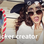 Sony Sticker Creator app 1.3.2 version update brings Zoom function while editing sticker design