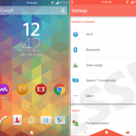 Try out Xperia Tri Flat Lollipop & Dainty Theme