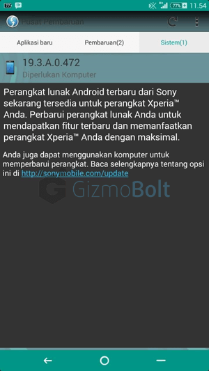 Xperia T2 Ultra 19.3.A.0.472 firmware update