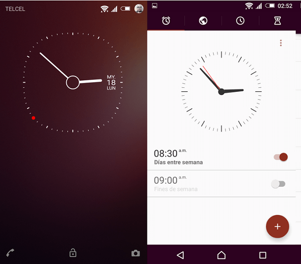 Xperia Lollipop Ubuntu Flat Theme