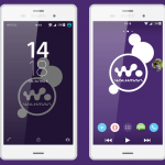 Xperia Lollipop Walkman & Face Color Xperia key Theme