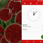 Try Xperia Lollipop Watermelon Flat & Lollipop S6 Theme