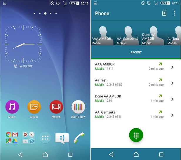 Xperia Lollipop S6 Theme