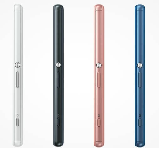 Xperia A4 in pink, white, black and blue color