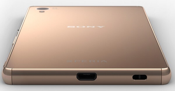 IP65/IP68 certified Xperia Z3+ with capless USB Port
