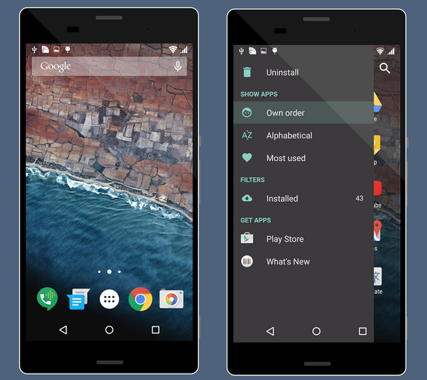 Xperia Android M Theme