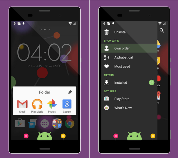 Download Xperia BigLollipop Theme