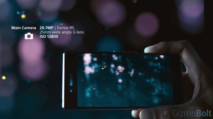Xperia Z3+ 20.7 MP camera features