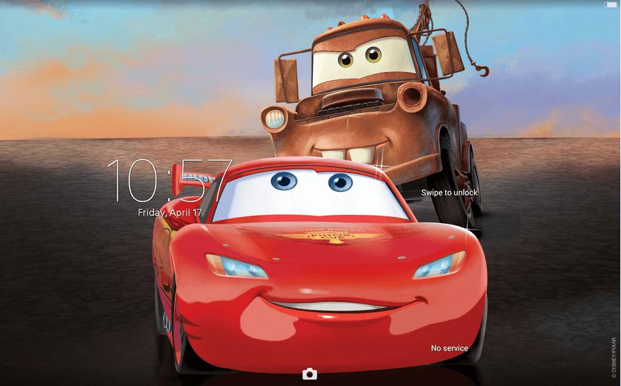 Download Xperia Cars Road Trip Theme