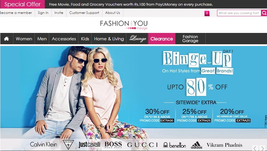 FashionAndYou Coupons