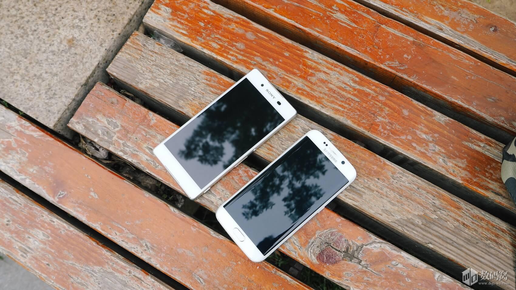 Xperia Z3+ vs Galaxy S6 Edge design comparison