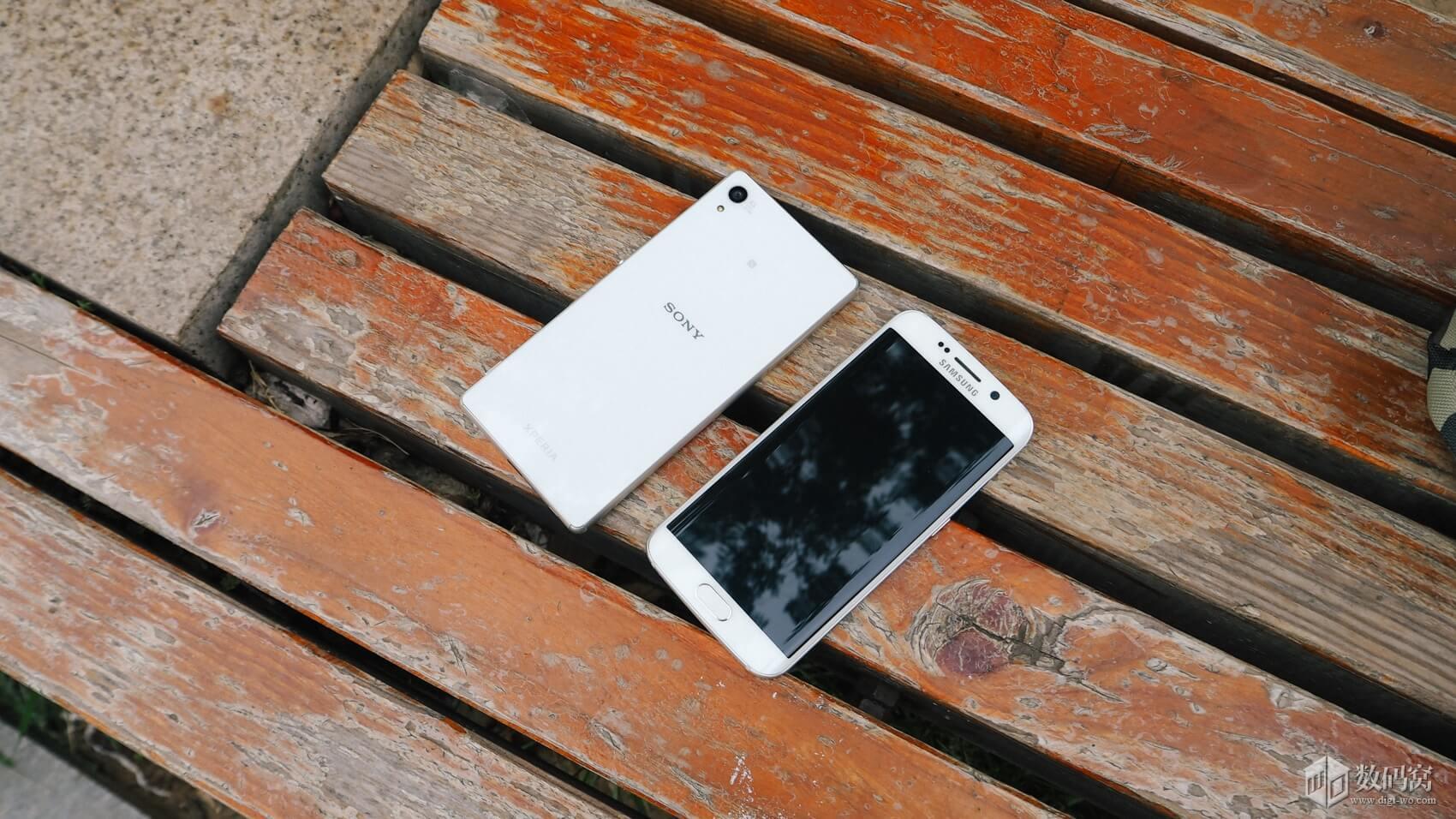 Hands on Galaxy S6 Edge vs Xperia Z3+