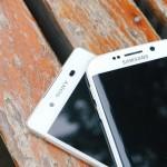 Xperia Z3+ vs Galaxy S6 Edge design comparison pics