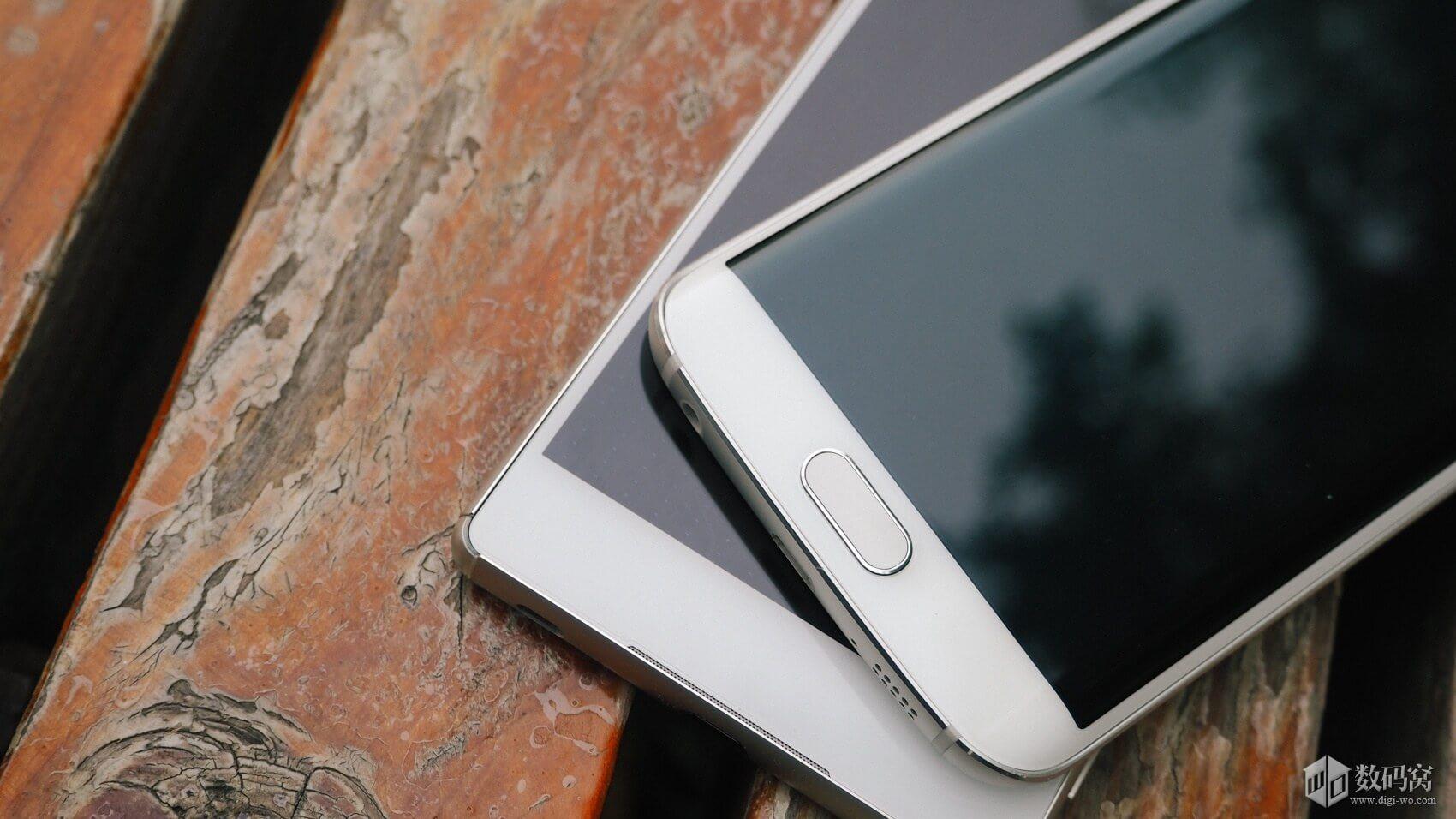 White Xperia Z3+ vs Galaxy S6 Edge