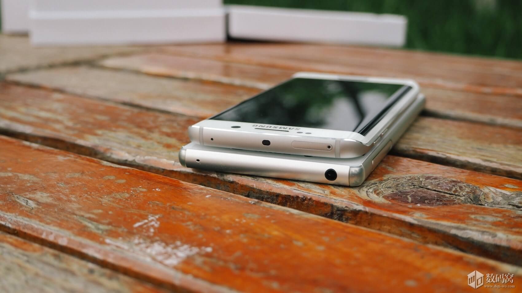 Galaxy S6 Edge vs Xperia Z3+ Design