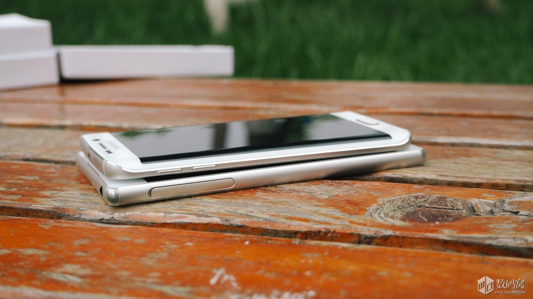 Galaxy S6 Edge vs Xperia Z3+ hands on