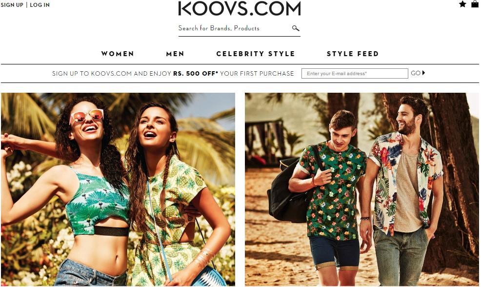 Koovs Online coupons