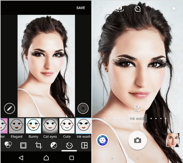Ink Wash – Xperia Style portrait app effect