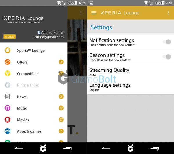Sony Xperia Lounge 3.1.4 apk