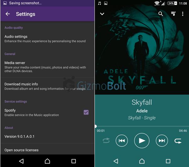 Xperia Music app 9.0.1.A.0.1