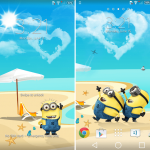 Xperia Star Wars & Minions Theme for Lollipop & KitKat devices