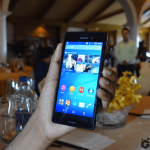 Xperia M4 Aqua Dual Hands On Pics