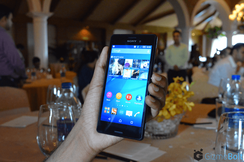 Xperia M4 Aqua Hands On
