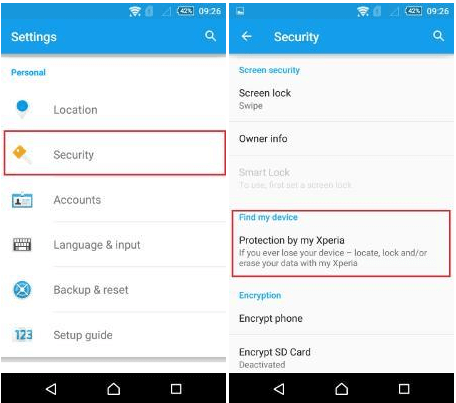 How to Deactivate MXTP on Xperia device?