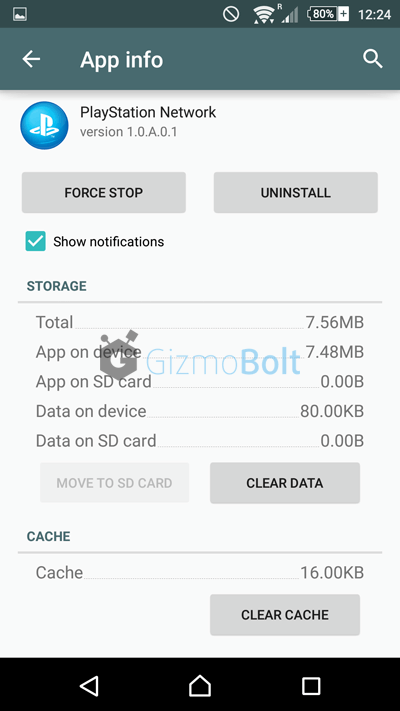 Xperia Z3+ PlayStation Network version 1.0.A.0.1 apk