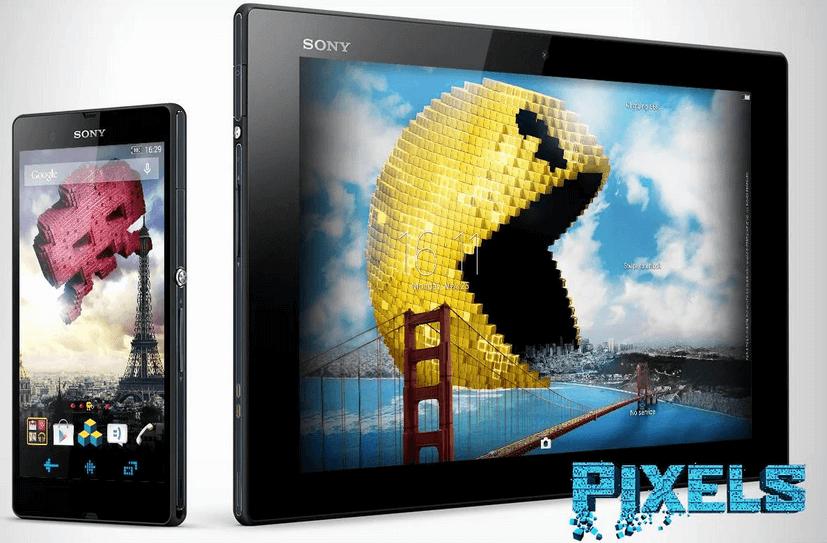 Xperia Pixels Theme