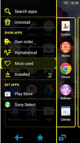 Xperia Pixels Theme apk