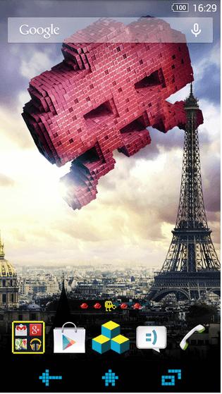Download Xperia Pixels Theme