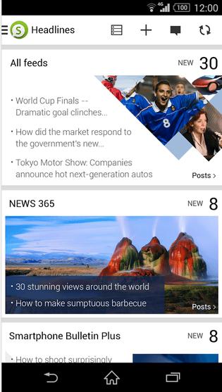 Sony Socialife News 4.2.06.30.3 apk