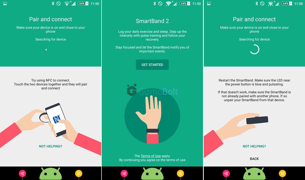Official SmartBand 2 SWR12 App