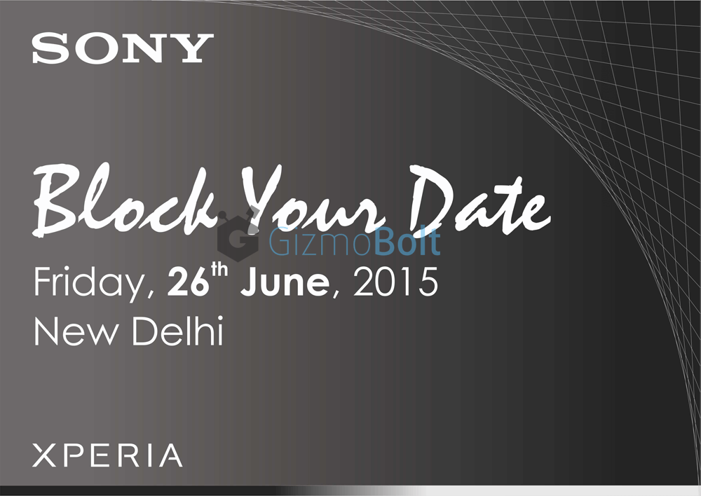 Sony Press Conference 26 June India