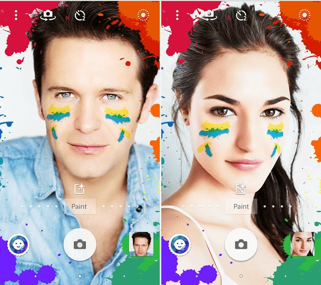 Download Paint - Xperia Style portrait app effect