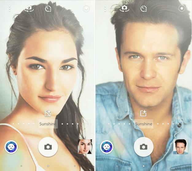 Download Sunshine - Xperia Style portrait app effect