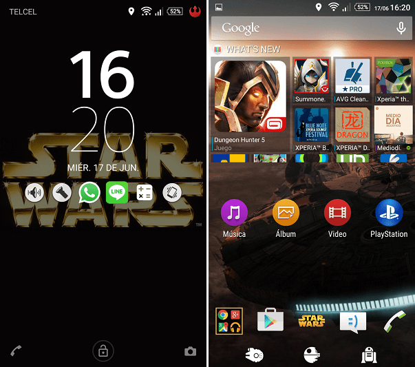 Xperia Star Wars Theme