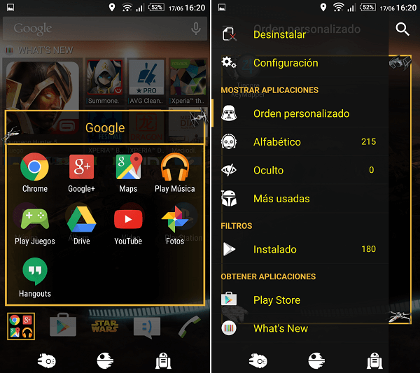 Download Xperia Star Wars Theme