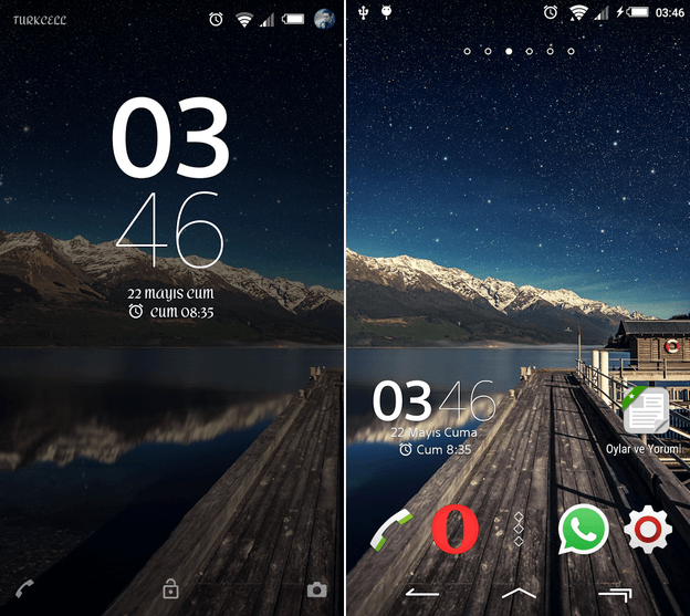 Xperia Trabzen Theme for Lollipop