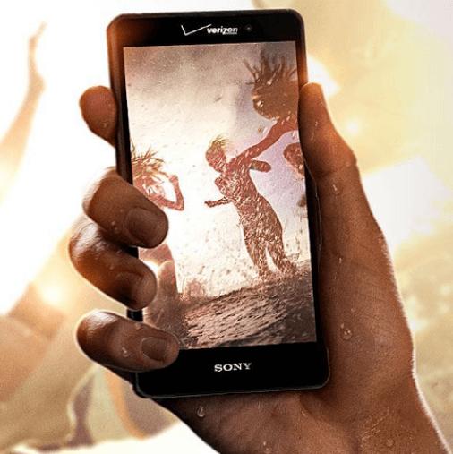 """Xperia Z4v 5.2"""" QHD display (2560x1440 resolution)"""